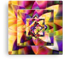 Number 1 Abstract by Mark Compton Canvas Print