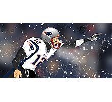 Tom Brady Together We Make Football Print Photographic Print