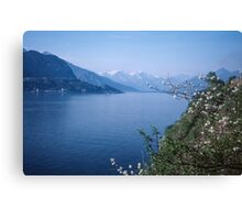 Como towards Bellagio Italy 19840424 0054m Canvas Print