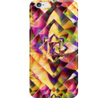 Number 1 Abstract by Mark Compton iPhone Case/Skin