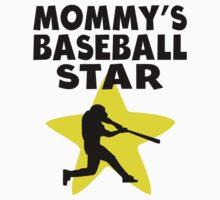 Mommy's Baseball Star Kids Tee