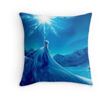Elsa's Magic Throw Pillow