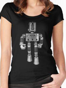 Adopt-A-Bot  Robot #2 Women's Fitted Scoop T-Shirt