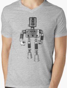 Adopt-A-Bot  Robot #2 Mens V-Neck T-Shirt