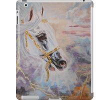Arabian Horse - equine, western art, equestrian iPad Case/Skin