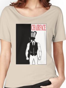 The Tick chairface scarface Women's Relaxed Fit T-Shirt