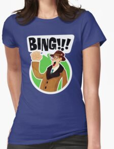 Bing!!!-2 Womens Fitted T-Shirt