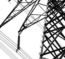 Hydro Lines by Jesse Wong