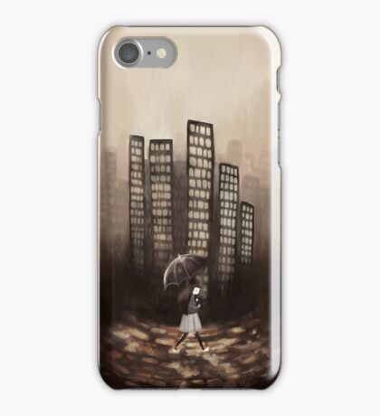 City Rain iPhone Case/Skin