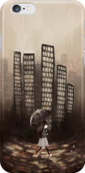 City Rain by goldenapple