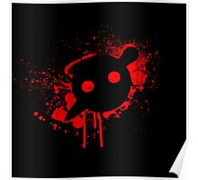 Knife Party - Blood Logo Poster