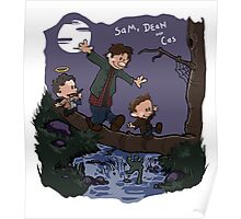 Sam, Dean, and Cas Poster