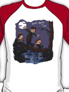 Sam, Dean, and Cas T-Shirt