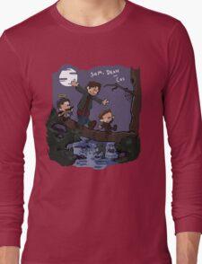 Sam, Dean, and Cas Long Sleeve T-Shirt