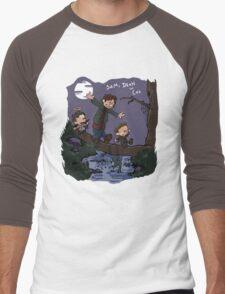 Sam, Dean, and Cas Men's Baseball ¾ T-Shirt