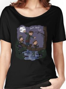 Sam, Dean, and Cas Women's Relaxed Fit T-Shirt