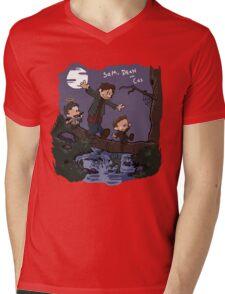 Sam, Dean, and Cas Mens V-Neck T-Shirt