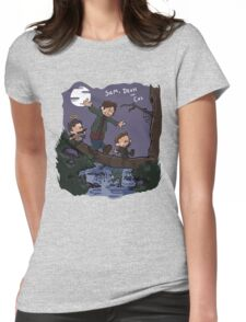 Sam, Dean, and Cas Womens Fitted T-Shirt