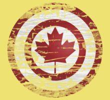 Captain Canada Baby Tee