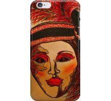 Masquerade Woman iPhone Case/Skin