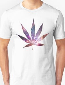 Space Pot Leaf Unisex T-Shirt