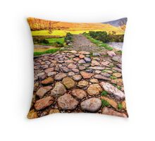 Wasdale Packhorse Throw Pillow