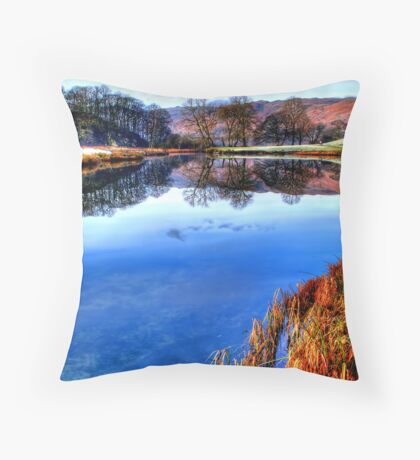 River Brathay Throw Pillow