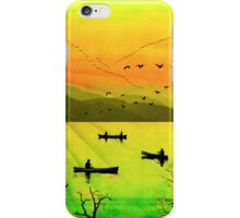 Phone case: Canoeing in France iPhone Case/Skin