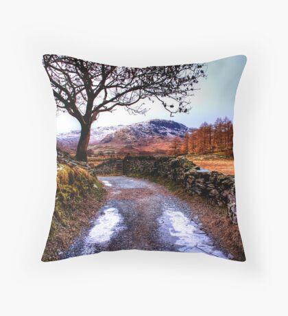 The Lane Throw Pillow