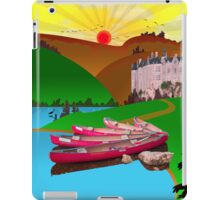 Ipad: Canoeing in the Ardennes iPad Case/Skin