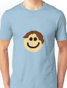 The Smiley Face with Great Hair Unisex T-Shirt