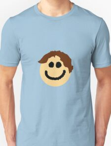 The Smiley Face with Great Hair T-Shirt