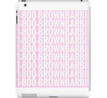 brown barbie iPad Case/Skin