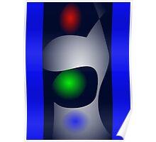 Robot's Green Eye  Poster