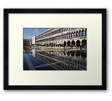 Venice, Italy - St Mark's Square Symmetry Framed Print