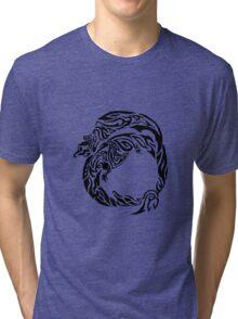 Charizard Tribal Tri-blend T-Shirt