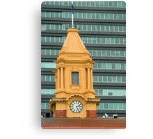 Ferry Building Clock Canvas Print