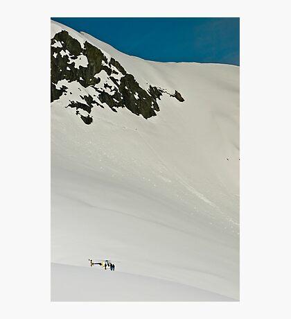 The Fox and Franz Joseph Glaciers Photographic Print