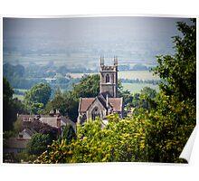 St James Church Shaftesbury Poster