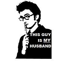 My Husband Photographic Print