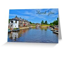 Brecon Thank You Card Greeting Card