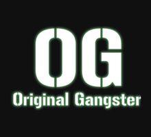 Original Gangster Text Kids Tee