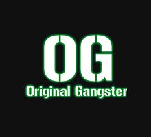 Original Gangster Text Zipped Hoodie