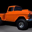 1955 Chevrolet Monster Pickup Truck by TeeMack