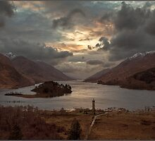 Glenfinnan Monument by Andrew Watson