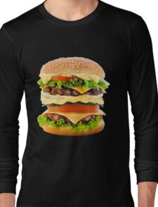 Hamburger Long Sleeve T-Shirt