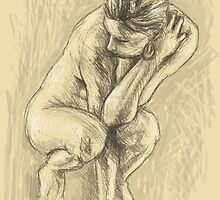 Figure drawing by Sunil Kainth