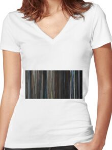 In the Mouth of Madness (1994) Women's Fitted V-Neck T-Shirt