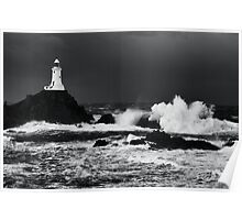 Corbiere Storms Poster