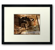 The Vintage Falcon  Framed Print